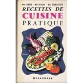 Recettes De Cuisine Pratique de Schefer Mme, G.