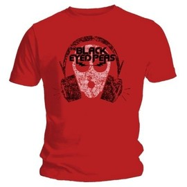 "TEE SHIRT HOMME ROUGE BLACK EYED PEAS ""OUT OF MY MIND"" TAILLE XL"