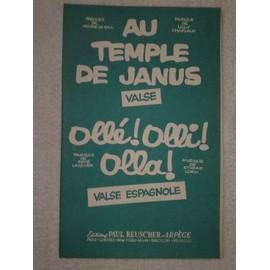 """au temple de janus"" (valse) de andré le gall et lulu charleux // ""ollé! olli! olla!"" (valse espagnole) de rené laquier et étienne lorin"