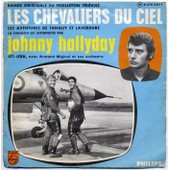 Les Chevaliers Du Ciel + Jet Jerk Label Rouge - Johnny Hallyday