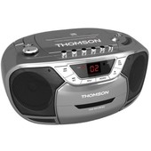 Radio Cd/K7 Thomson Rk110cd - Noir/Gris