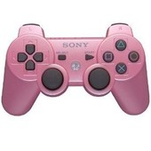 Sony Dualshock 3 Sixaxis Candy Pink (Rose) - Manette Sans Fil Officielle Pour Playstation 3