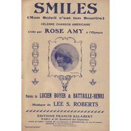 Smiles (Fox-trot sur les motifs de la chanson de Lee S. Roberts et de Francis Salabert