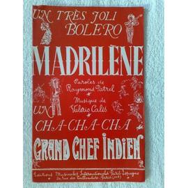 """""""madrilène""""  (boléro)  et  """"grand chef indien""""  (cha-cha-cha)  de raymond patrel et valerio calès"""