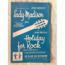 """lady-madison"" de J. merlin, ben et roger lécussant // ""holliday for rock"" (rock and roll) de J. merlin"