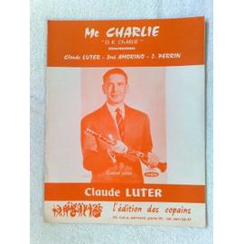 """mc charlie"" (charleston) de claude luter, josé amorino, J. perrin"