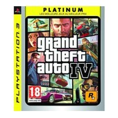 Grand Theft Auto Iv Platinum - Ensemble Complet - Playstation 3