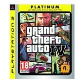 Grand Theft Auto Iv Platinum - Ensemble Complet - Playstation 3