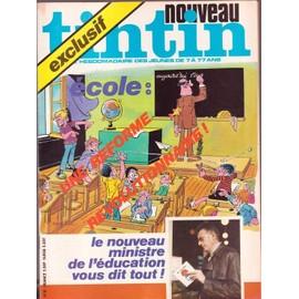 Nouveau Tintin N� 81 : Ecole Une Reforme Revolutionnaire
