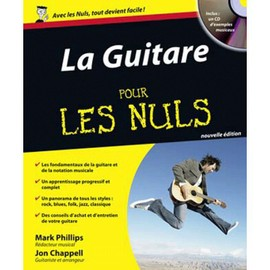 ID MUSIC POUR LES NULS GUITARE TAB CD