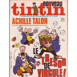 Nouveau Tintin Nouvelle Serie N 54 N� 194 : Le Tresor De Virgule