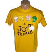 T-Shirt Tour De France - Cyclisme - Tee Shirt Officiel V�lo Mod�le