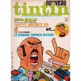 Nouveau Tintin Nouvelle Serie N 4 N� 144 : Agent Secret X 9