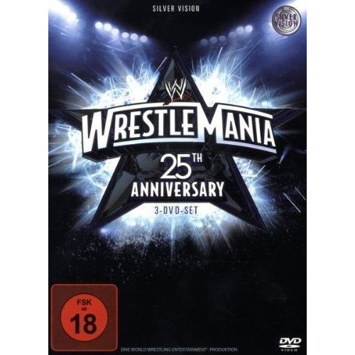 WWE WWE-WRESTLEMANIA 25 (DELUXE [IMPORT ALLEMAND] (IMPORT)  (COFFRET DE 3 DVD)