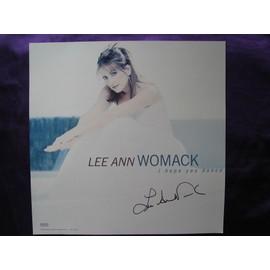 Lee Ann Womack Affiche format 30.5x30.5 cm avec un autographe fait à Nashville