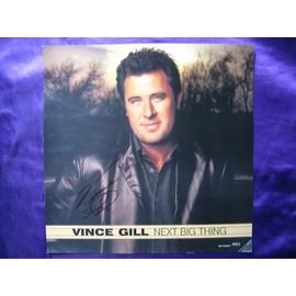 Vince Gill Affiche format 30.5x30.5 cm avec un autographe fait à Nashville