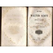 Oeuvres De Walter Scott: Le Chateau P�rilleux, La D�monologie de Defauconpret