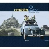 Citroen 2cv + Livre La 2cv De Mon P�re + Plaque M�tal