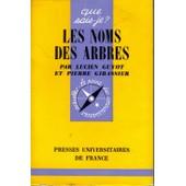 Les Noms Des Arbres de Guyot L.Et Gibassier P.