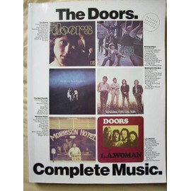 The Doors: Complete Music Piano,  Vocal & Guitar (with Chord Boxes)