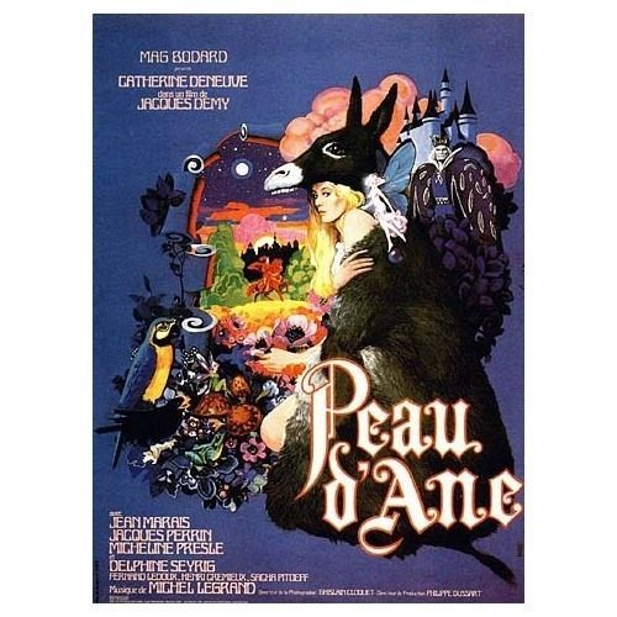 Peau d'Ane affiche de cinéma