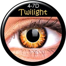 Colourvue Crazy Lens 365j - Lentilles De Contact - Couleur Twilight Vampire