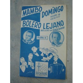 MAMBO DOMINGO(MAMBO de VERINO)&BOLERO LEJANO(BOLERO de RAMON RIVERO)