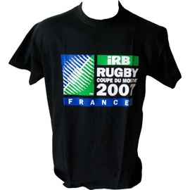 T-shirt maillot Rugby IRB France Australie All Blacks Ecosse Angleterre Canada Afrique Argentine Italie Irelande Fidji