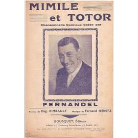 mimile et totor, fernandel