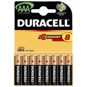 Pile DURACELL AAA LR03 classic x 8