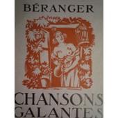 Chansons Galantes de BERANGER