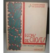 Le�ons De Choses de A. Charbonnier