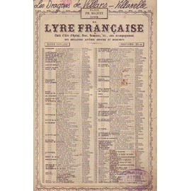 LES DRAGONS DE VILLARS - VILLANELLE - CHANTéE PAR M SCOTT