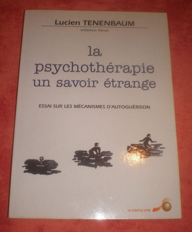La Psychothérapie, un savoir étrange - Essai sur les mécanismes d'autoguérison