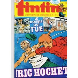 Tintin N� 439 : Ric Hochet : Le Double Qui Tue