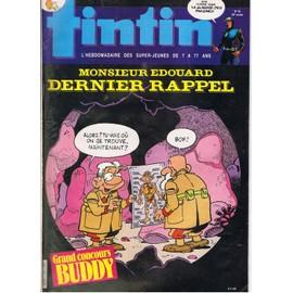 Tintin N� 478 : Monsieur Edouard : Dernier Rappel