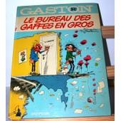 Le Bureau Des Gaffes En Gros ( Gaston R2 ) de Franquin