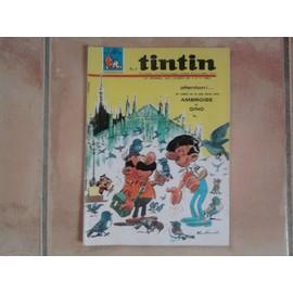 Tintin Le Journal Des Jeunes De 7 A 77 Ans N� 939
