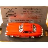 Mercedes Benz 300 Sl Gullwing 1954 Rouge Bang 1/43 Red