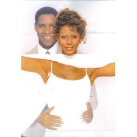 Whitney Houston / Denzel Washington Poster Affiche Film 84X56