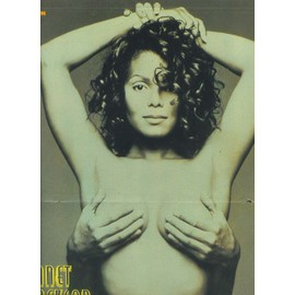 Janet Jackson / Beck Poster 28X40 (PopCorn)