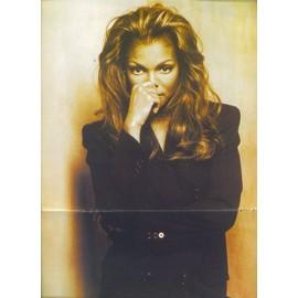 Janet Jackson Poster 28X42 (Smash Hits)