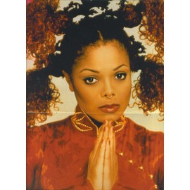 Janet Jackson / Pearl Jam Poster 28X42 (Bravo)