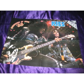 KISS / David Lee Roth Poster 4 pages Monsters of Rock 1988