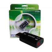 Carte son externe USB 5.1 chipset CMEDIA CL-SU4CHA avec programme 5.1