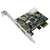 Carte contr�leur Chip NEC PCI-Express - 2 Ports USB 3.0
