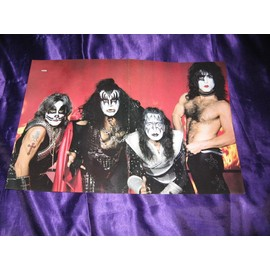 KISS / White Zombie & Pantera Poster 2 pages USA