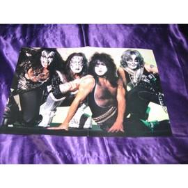 KISS / Metallica Poster USA deux pages de Metal Edge Mag époque 1996