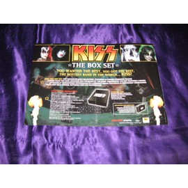 KISS / Tesla Anthrax Poison... Poster 2 pages Metal Edge USA Epoque Box set