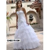 Robe De Mari�e Mariage Robe De Soir�e C�r�monie Neuve Bridal Gowns New Chezmode